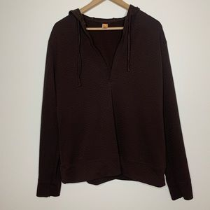 Lucy | Hooded Sweatshirt | Brown | Large
